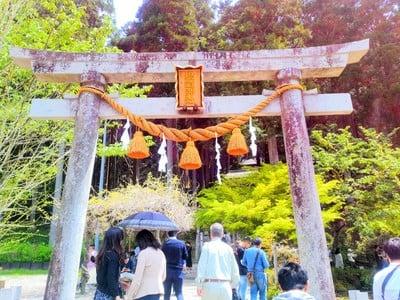 岐阜県根道神社の本殿