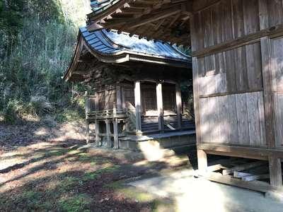 千葉県山神社の本殿