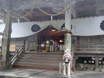 戸隠神社宝光社の本殿