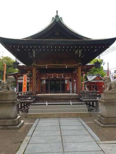 柳原蛭子神社の本殿