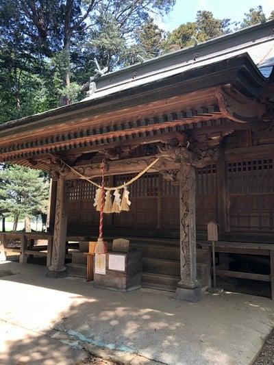 茨城県東蕗田天満社の本殿