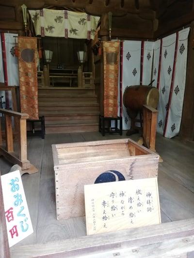 東京都大森鷲神社の本殿