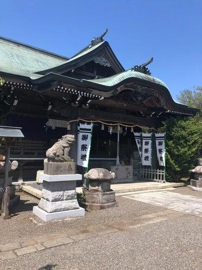 茨城県別雷皇太神の本殿