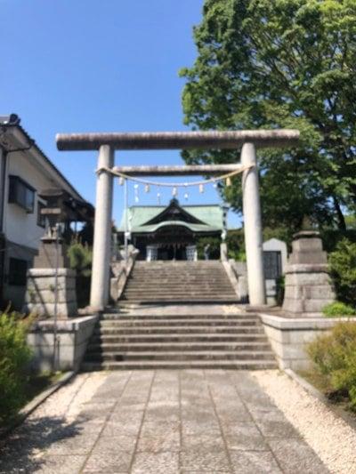 茨城県別雷皇太神の鳥居