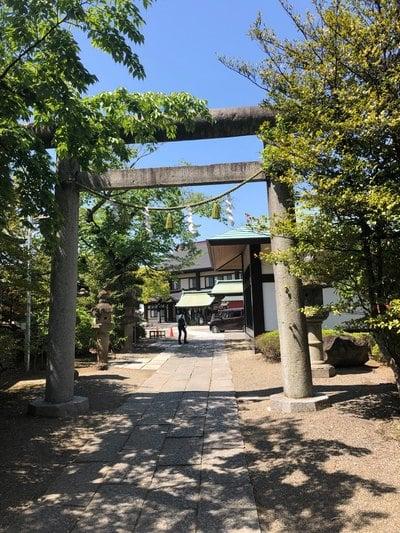 茨城県水戸東照宮の鳥居