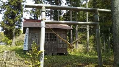 栃木県温泉神社の本殿