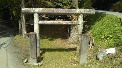栃木県天満宮の鳥居