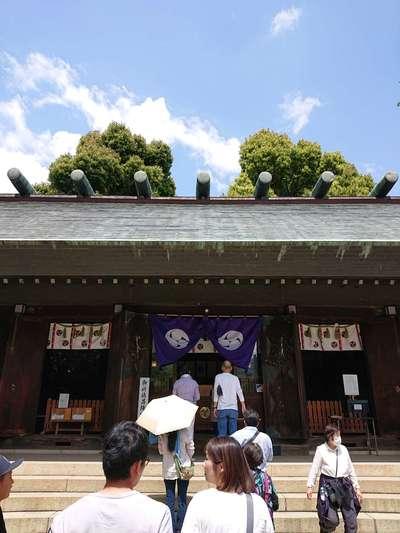 埼玉県所澤神明社の本殿