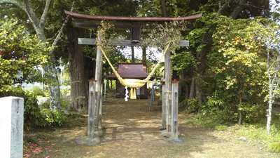 栃木県寅卯神社の鳥居