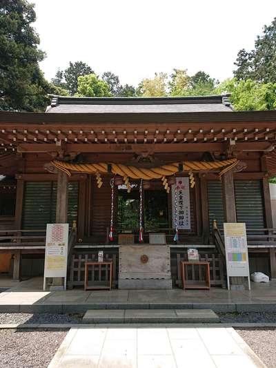 埼玉県中氷川神社の本殿