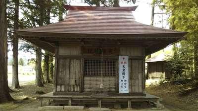 栃木県寅卯神社の本殿