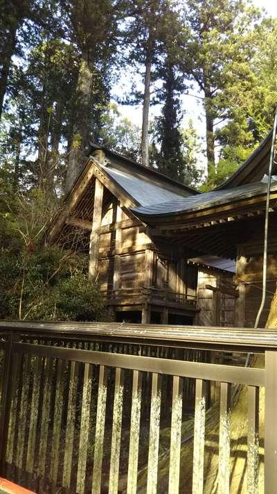 茨城県近津神社の本殿