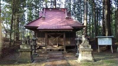 諏訪神社の近くの神社お寺|十二所神社
