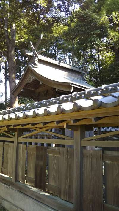 茨城県天満宮の本殿