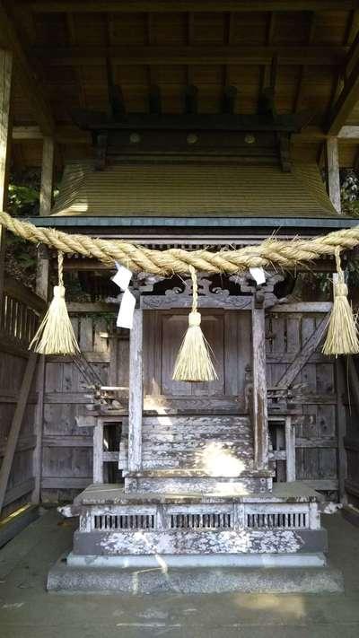 茨城県津神社の写真