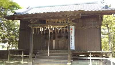 茨城県諏訪神社の写真
