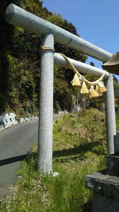 茨城県鹿島神社の鳥居