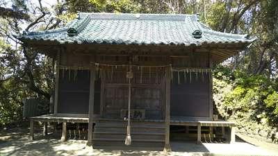 茨城県弟橘媛神社の本殿