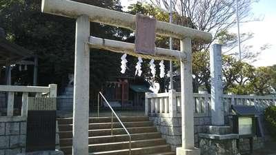 茨城県天満神社の鳥居