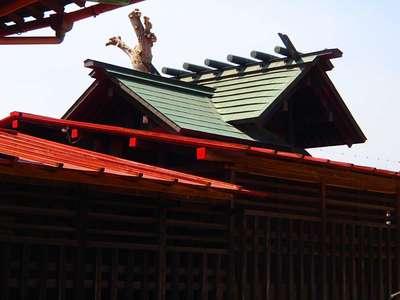 埼玉県牛島 女體神社の本殿