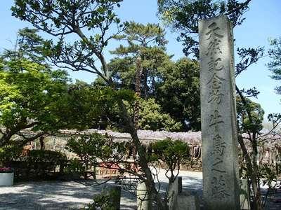 牛島 女體神社の周辺