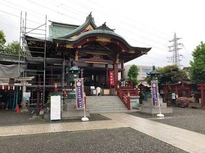 東京都羽田神社の本殿