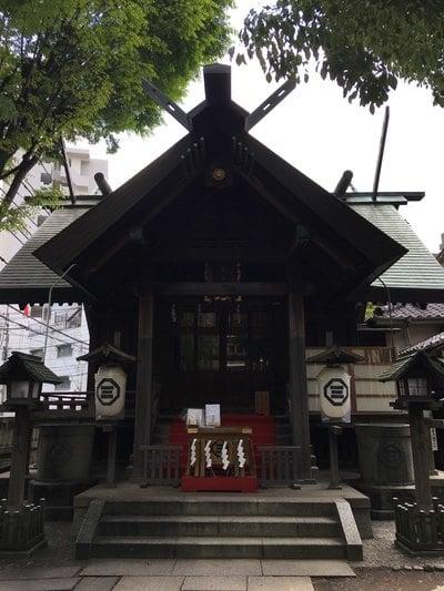東京都三島神社の本殿