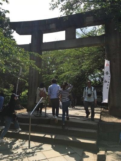 上野東照宮(東京都京成上野駅) - 鳥居の写真