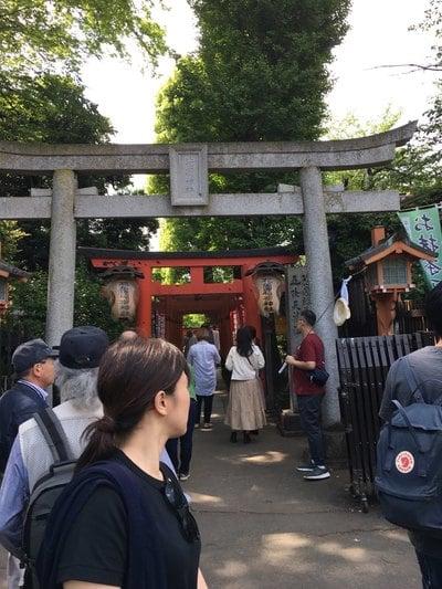 上野大仏の近くの神社お寺|花園稲荷神社
