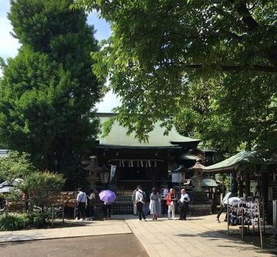 上野大仏の近くの神社お寺|五條天神社