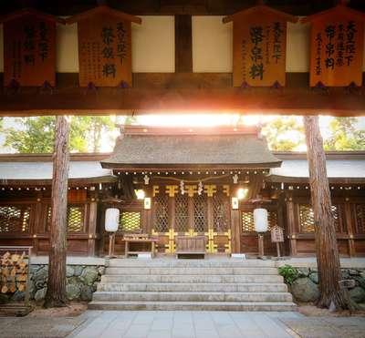 伊太祁曽神社の本殿