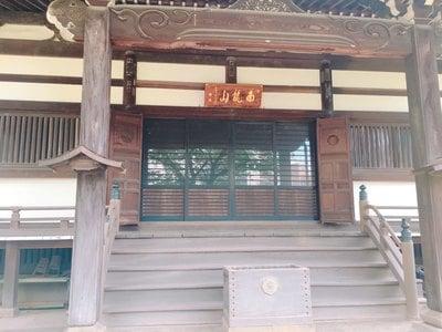 神奈川県無量寺の本殿