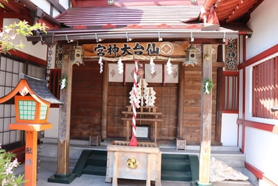 仙台大神宮の本殿