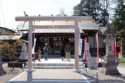 櫻岡大神宮の鳥居