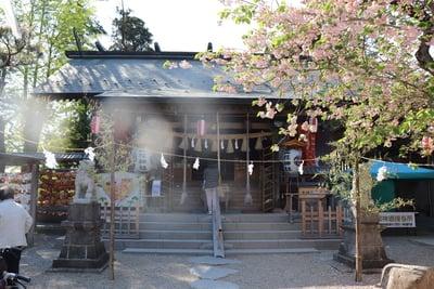 宮城県二柱神社の本殿