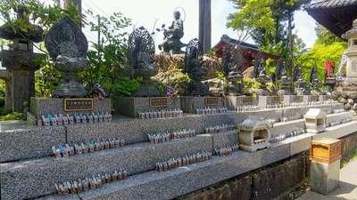 四萬部寺(埼玉県大野原駅) - 仏像の写真