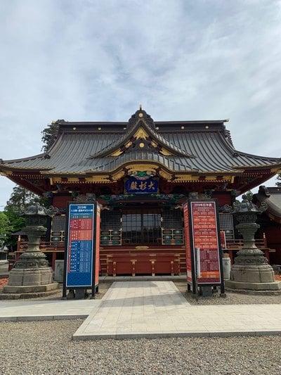 茨城県大杉神社の本殿