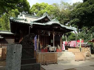東京都代々木八幡宮の本殿