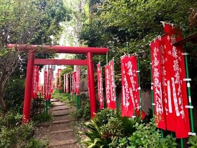 稲荷神社(東京都中目黒駅) - 鳥居の写真