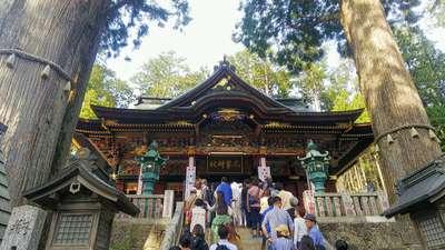 埼玉県三峯神社の本殿