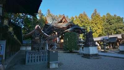 滋賀県馬見岡綿向神社の本殿