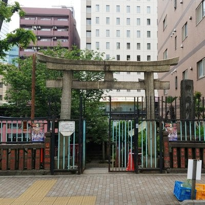 柳森神社の鳥居