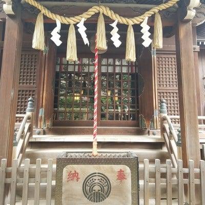 東京都柳森神社の本殿