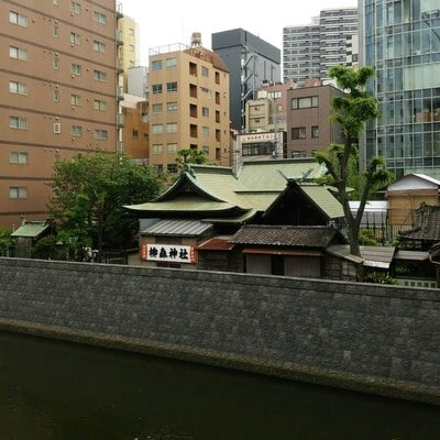 柳森神社の周辺