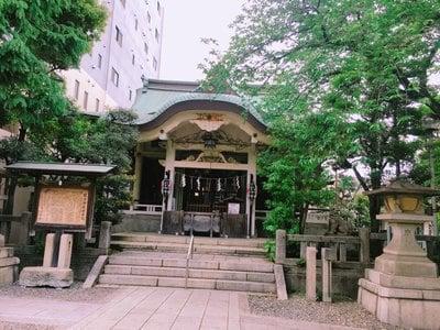 東京都猿江神社の本殿