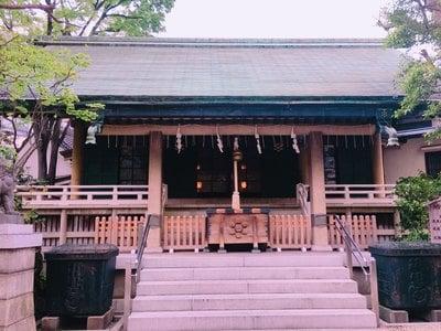 東京都榊神社の本殿
