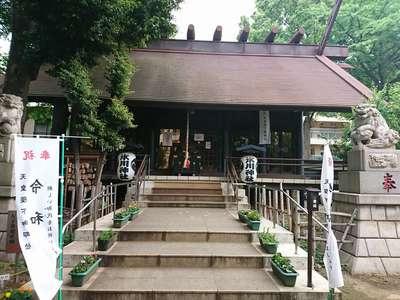 東京都高円寺氷川神社の本殿