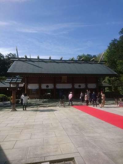 千葉県櫻木神社の本殿