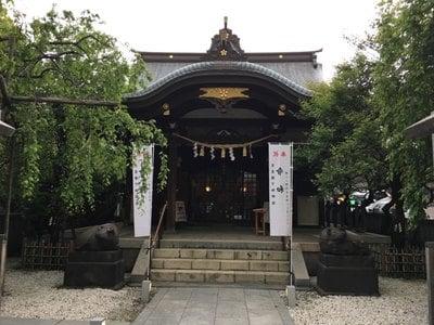 東京都牛天神北野神社の本殿