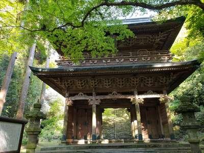 福岡県清水寺の山門